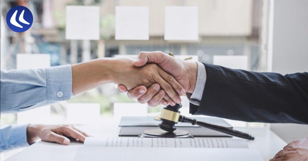 lending handshake